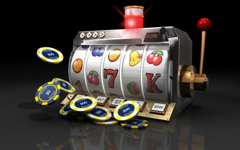 spelautomat 5 hjul + spelmarker